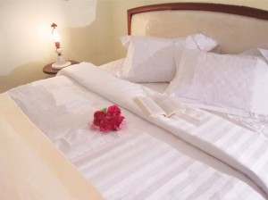 Indulge yourself in good quality bedsheets - whether it's CVC or Cotton.